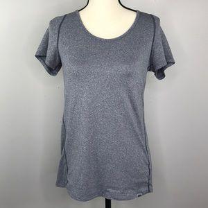 REI Blue Short Sleeve Athletic T Shirt